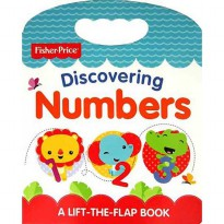 [HelloPandaBooks] Fisher Price Discovering Numbers A Lift-the-Flap Board Book