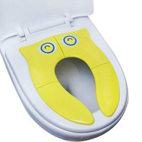 Pispot Folding Travel Potty Seat BABYLOO Portable Anti-Slip FREE Pouch