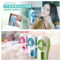 Portable Handheld Mini Beauty Replenishment Fan with Water Spray