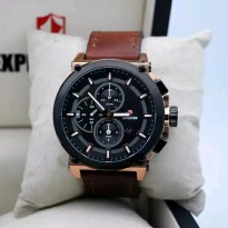 Jam Tangan Expedition E 6612 Rosegold Brown Original