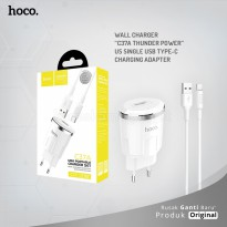 HOCO Wall charger C37A Thunder power US single USB Type-C charging adapter
