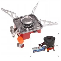 Kompor Camping Portable Mini Gas Kaleng | Portable Card Type Stove