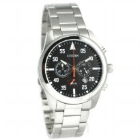 Citizen Jam Tangan Pria Silver Stainless Steel AN8090-56E