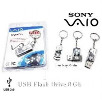 Flashdisk Sony Vaio Iron Key Chain 8 Gb