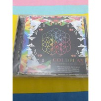 Cd Coldplay A Head Full Of Dream Imported Promo Murah10