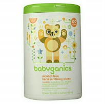 Babyganics Hand Sanitizing Wipes 100 sheets