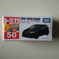 Tomica Ford Focus RS 500 1/62 Takara Tomy Black NEW MIB