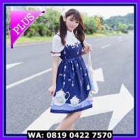PROMO COSTUME LOLITA 14 DARK BLUE