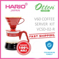 Hario V60 Coffee Server Set VCSD-02-CBR Brown