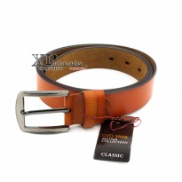 Promo! Gio 2000 Belt Jarum 271 | Ikat Pinggang Kulit Fashion Branded Import