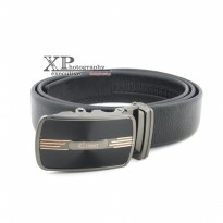 Promo! Cosset Belt Rel 268 - Hitam | Ikat Pinggang Fashion Branded Import