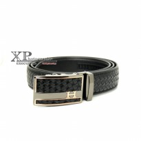 Promo! Fashion Belt Rel 250 - Hitam | Ikat Pinggang Fashion Branded Import
