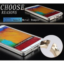 [Buy 1 Get 1 Hardcase]Samsung Galaxy Note 3 Case Ultra Slim Aluminum Metal Bumper Case
