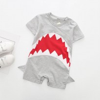 Baju Bayi Red Shark Romper Balita (Red Shark) - KA0088W