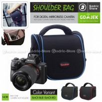 Tas NILON TRAVEL Sling Bag Case NYLON Kamera Mirrorless UNIVERSAL XA3 XA5 XA10 XA20 A6000 A6300 M10