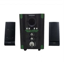 Multimedia speaker 2.1Chanel dengan USB port,MMC/SD Card sloth & Radio