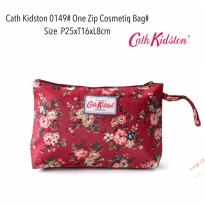 Tas Kosmetik Fashion One Zip Cosmetiq Bag 0149 - 9
