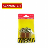 Kenmaster 20mm 2pcs Security lock gembok set 20 mm