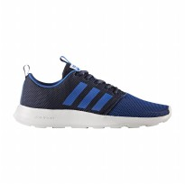 Sepatu Olahraga Lari Gym Fitness Adidas CF Swift Racer Mens Run Shoes - Blue Sport BB9941