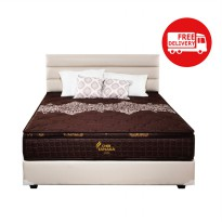 Springbed Fullset dilengkapi PillowTop Tanaka Japan series New Alona Uk.120