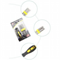 Obeng bolak balik 12 in1 DK-7661AB Fatick Screwdriver tools 2 way