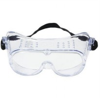 3M Safety Impact Goggle 332 Clear Lens Kaca Mata Safety Promo A10