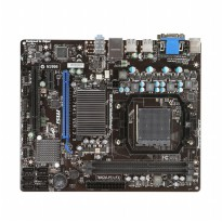 MSI Computer Corp. 760GM-P23 (FX) AMD 760G + SB710 Micro ATX DDR3 1333 AMD - AM3+ Motherboard
