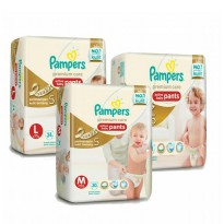 Pampers premium care pant M30/L26 (paket isi 2 pcs)