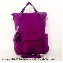 Tas Ransel Fashion Backpack Handbag Selempang Multifungsi 3in1 3055 - 11