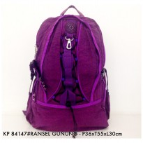 Tas Ransel Fashion Backpack Gunung 84147 - 4