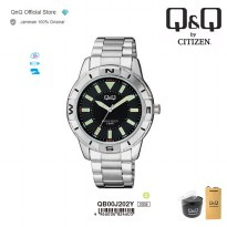 Q&Q QnQ QQ Original Jam Tangan Pria Formal Analog - QB00 QB00J Water Resist