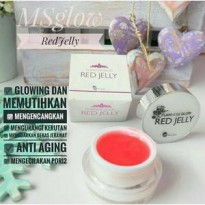 [ MS GLOW ] RED JELLY BPOM / FLAWLESS GLOW RED JELLY BY MS GLOW
