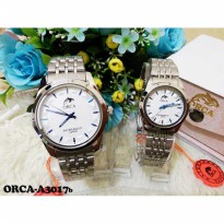 Jam Tangan Couple Orca Type A3017 Blue