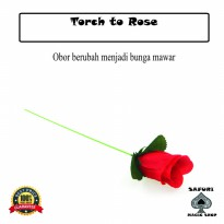 Alat Sulap Torch to Rose