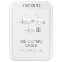 Samsung Usb Data Cable Combo Original - White