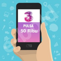 Pulsa THREE 50.000