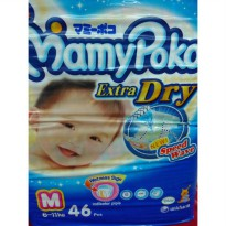Mamypoko Extra Dry Speed Wave Size M-46 Pcs 6-11 kg