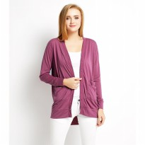 Sophie Paris Cardigan Wanita Elovia Purple XL-CA021P4XL