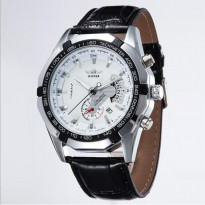 Winner TM340 Automatic Mechanical Watch (Jam Tangan Otomatis - Mekanis White