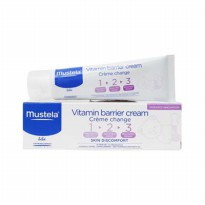 Mustela Baby Barrier Cream/ Diaper Rash Cream/ Krim Mengobati Ruam Popok Bayi 50ml