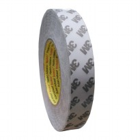 3M 9075i / 7385C Double Coated Tissue Tape - 24 mm x 50 m - 1 Buah