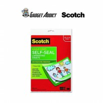 Scotch LS854SS10 Self-Sealing Laminating Sheets