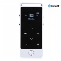 Benjie S5 Bluetooth Portable Hifi Digital Audio Player - Silver