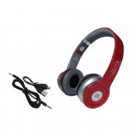 JBL S450 Headphone Bluetooth Headset Earphone Stereo Bass Wireless Micro SD - Merah