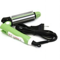 Catok Rambut Lipat Nova Travel 3 in 1 curly straight and combination
