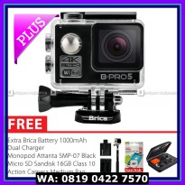 #Action Camera BRICA B-PRO 5 Alpha Edition 2 (AE2) 4K Camera Combo Extreme 2 - Hitam