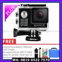 #Action Camera BRICA B-PRO 5 Alpha Edition 2 (AE2) 4K Combo Berrisom (B) - Hitam