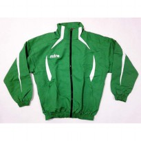 NEW Jaket Mitre New Jacket Malel Track Suit Green White Original Murah