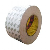 3M 9075i / 7385C Double Coated Tissue Tape - 48 mm x 50 m - 1 Buah