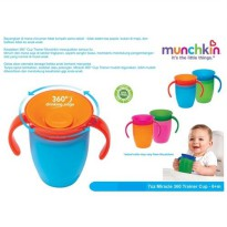 Munchkin Miracle 360° Trainer Cup - 7oz - Pink